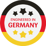 engineered in germany symbol